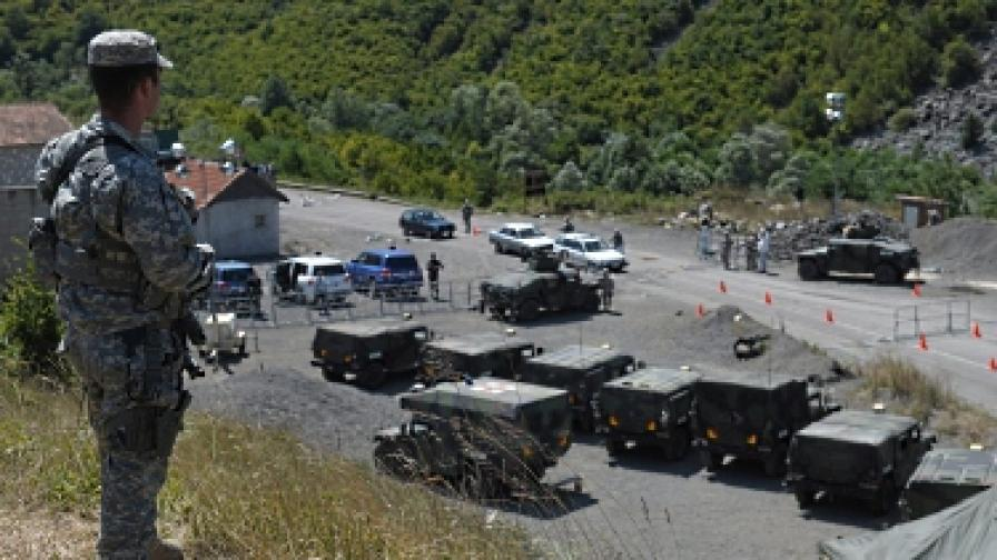 Косовските сърби блокираха пътищата в Северно Косово