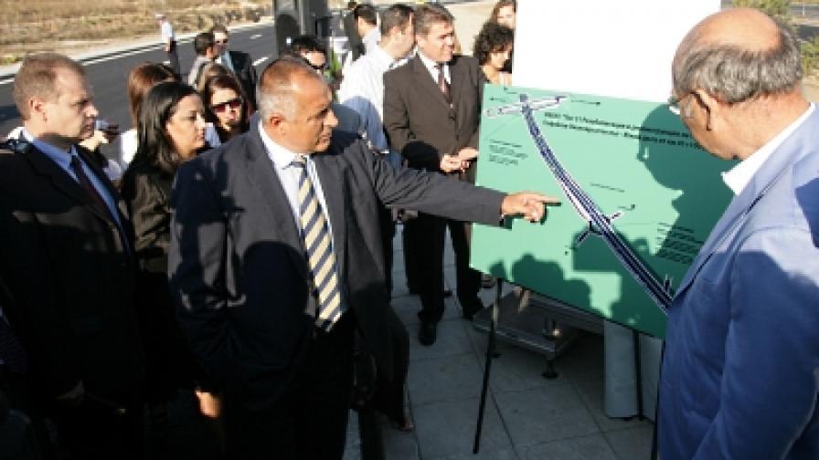 """Пусната е в експлоатация връзка на пътен възел """"Младост"""" и част от реконструираното и разширено трасе на Софийския околовръстен път – Южна дъга"""