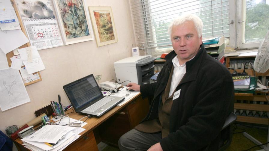 Таню Бонев, директор на астрономическата обсерватория в Рожен