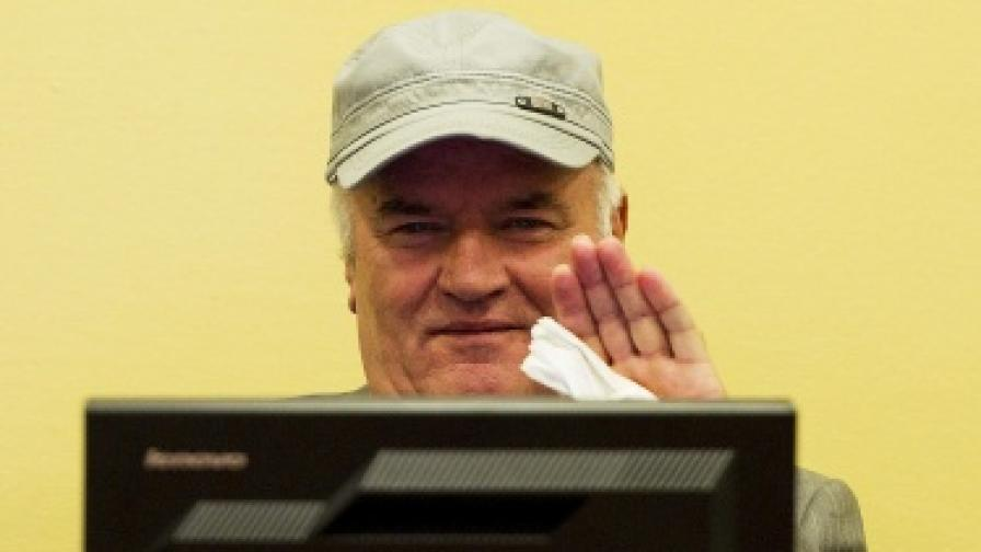 Ратко Младич в болница със съмнения за пневмония