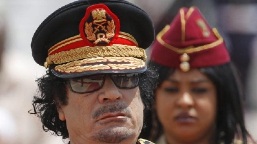 Кадафи е мъртъв