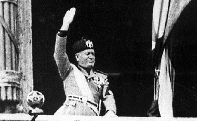 Бенито Мусолини