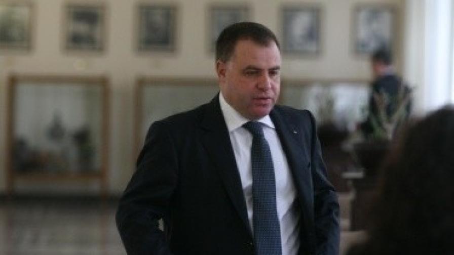 Министърът на земеделието и храните Мирослав Найденов