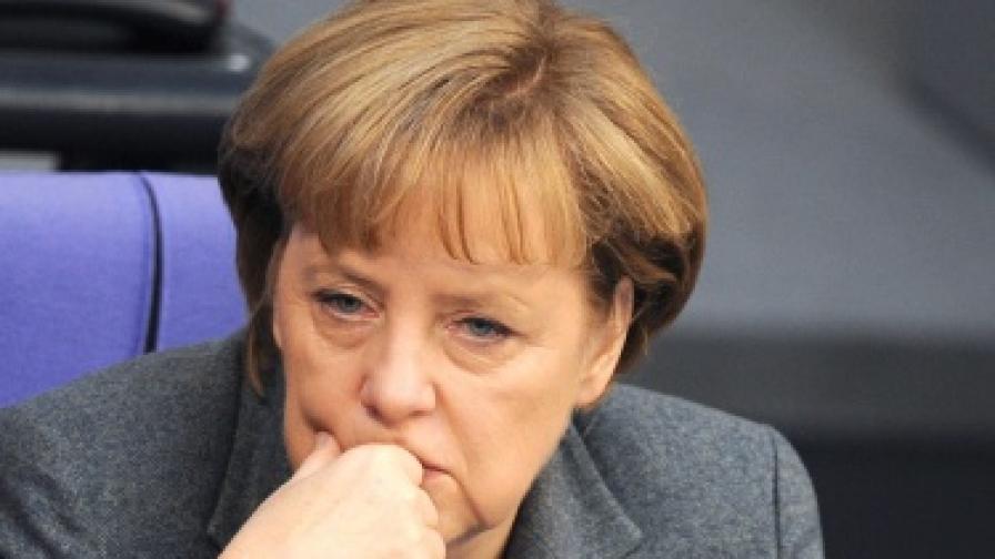 Доверието на германците в Меркел расте