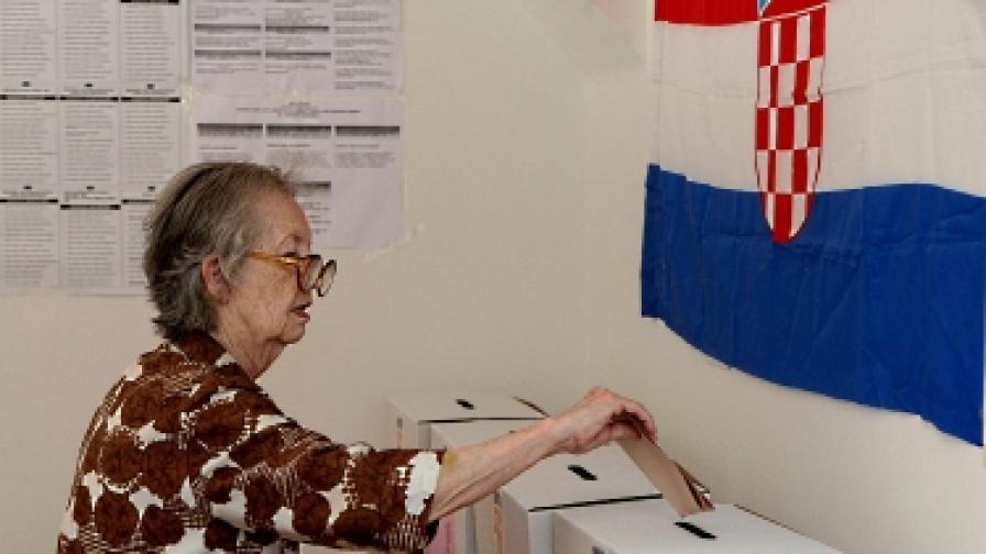 В Хърватия има повече гласоподаватели отколкото население