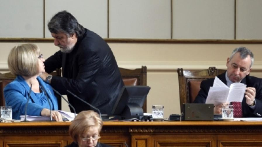 Приеха среднощ Закона за държавния бюджет за 2012 г.