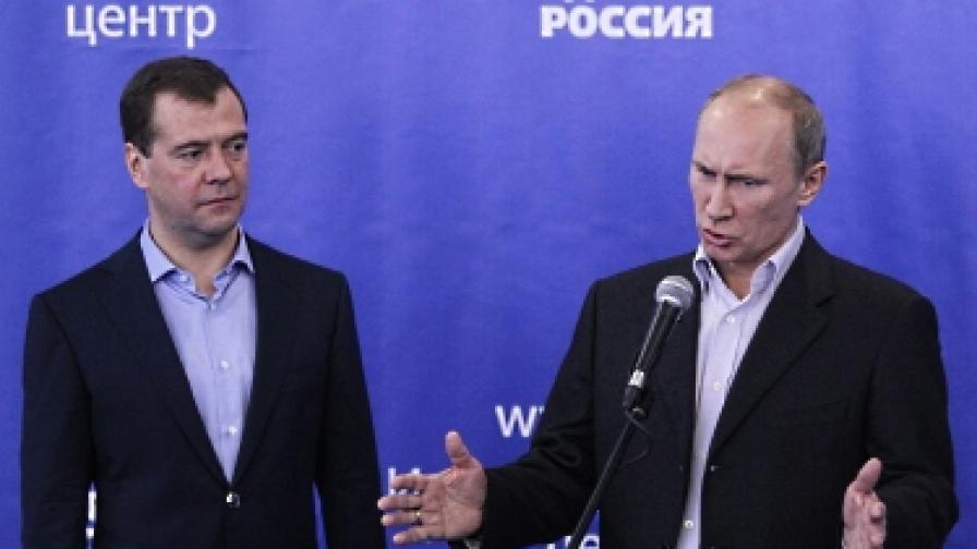 Путин: Медведев ще бъде премиер догодина