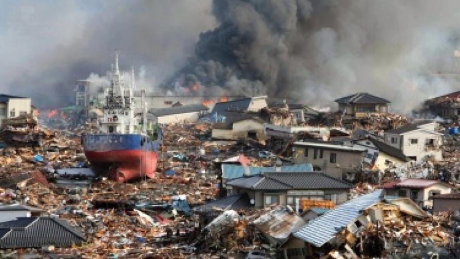 Отломки от труса в Япония стигат до САЩ