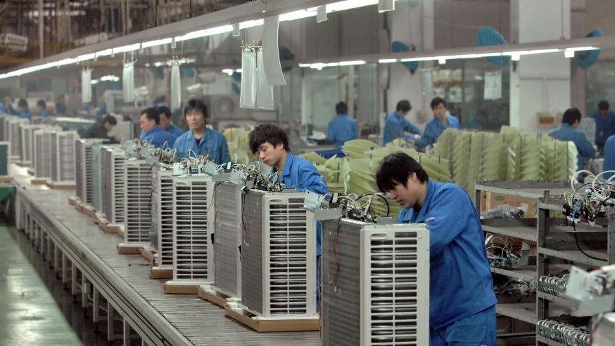 Производство на климатици в Китай