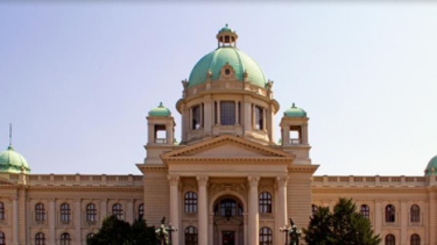 Забраниха алкохола в сръбския парламент