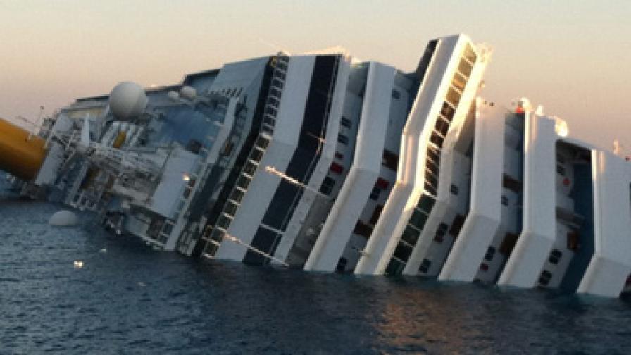 """""""Коста Конкордия"""" - потъващият лукс, срявняван с """"Титаник"""""""