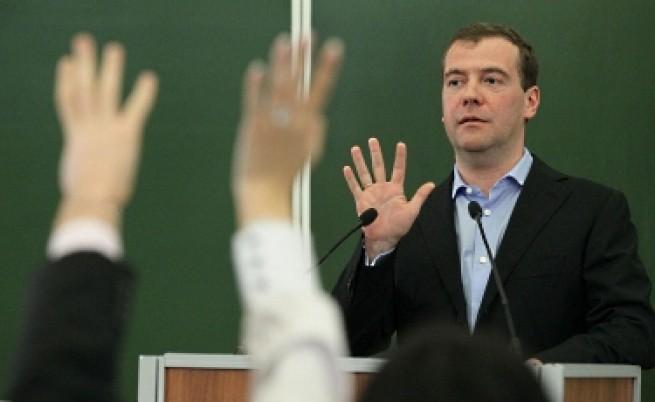 Медведев: Готов съм да умра за идеалите си