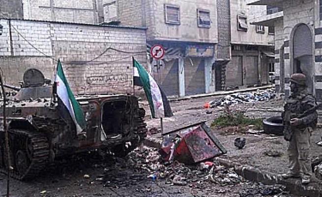 Kасапницата в Хомс продължава