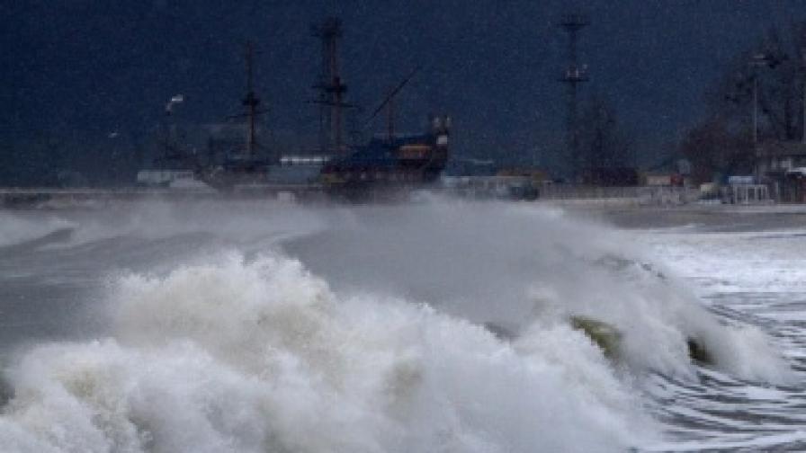 Мъж е загинал в морето в Бургас