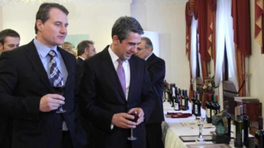 Плевнелиев: България е символ на качествени вина