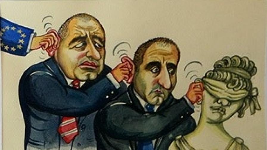 Карикатуристите отново жилят политиците