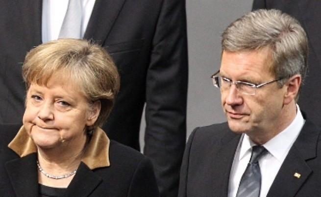 Германският президент подаде оставка