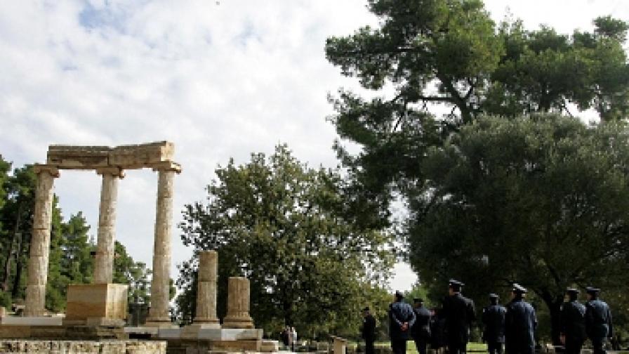 Обраха музея на Древна Олимпия