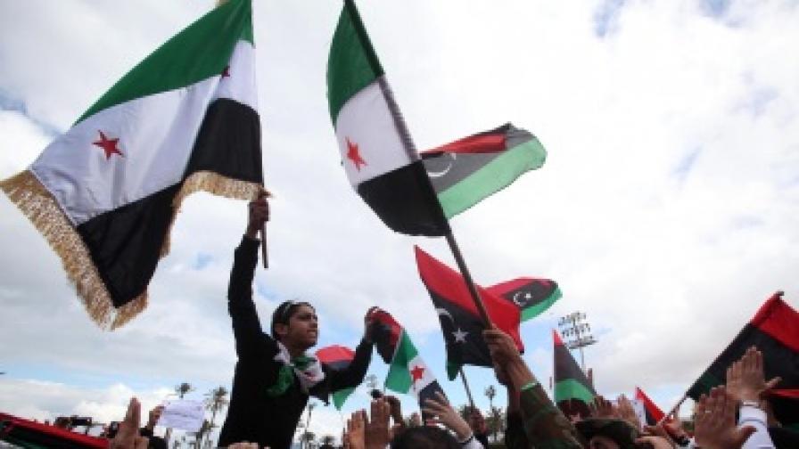 Либия чества година от началото на бунта срещу Кадафи