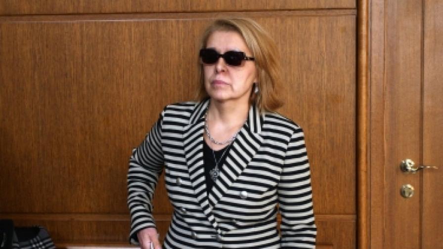 Зоя Димитрова в съда