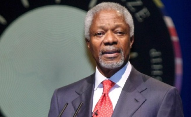 Избраха Кофи Анан за специален пратеник в Сирия