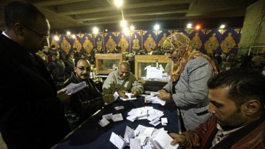Ислямистие в Египет спечелиха и вота за Шура