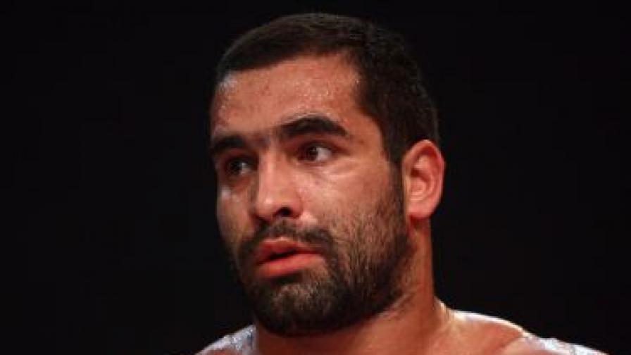 Благой Иванов-Багата по време на състезание