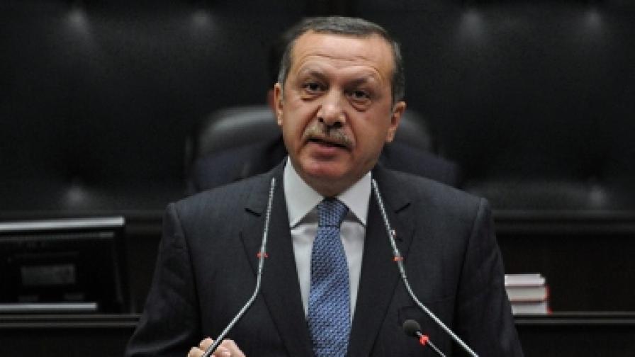 Отнеха награда, присъдена на Ердоган