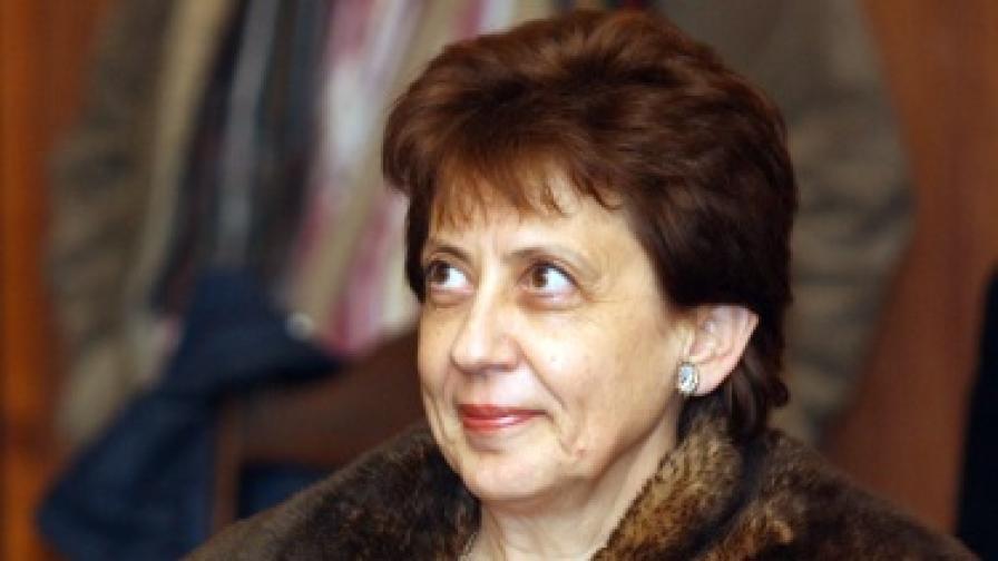 Ренета Инджова ще оглави националната статистика