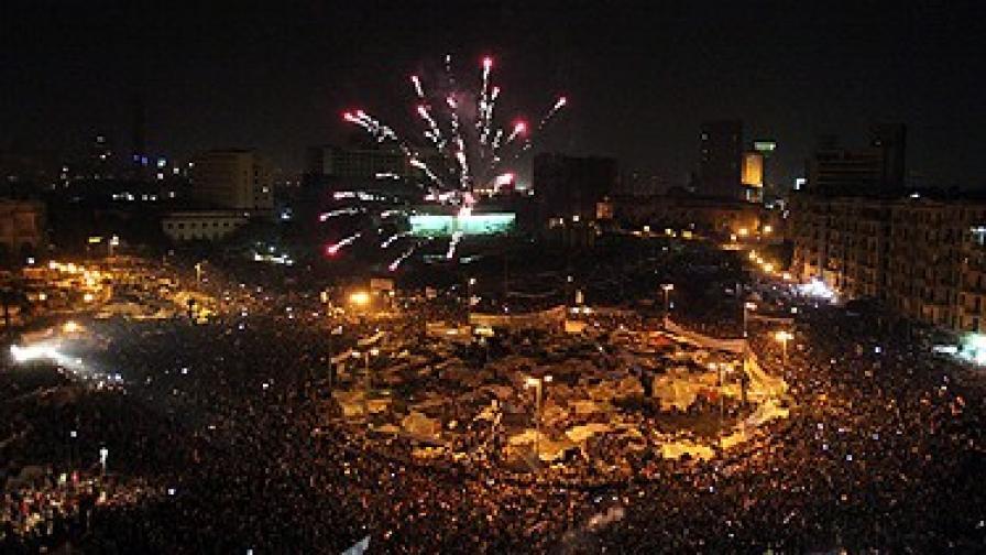 Рим кръсти площад на Арабската пролет