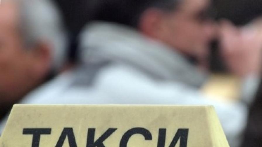 Протест на такситата в София и Пловдив