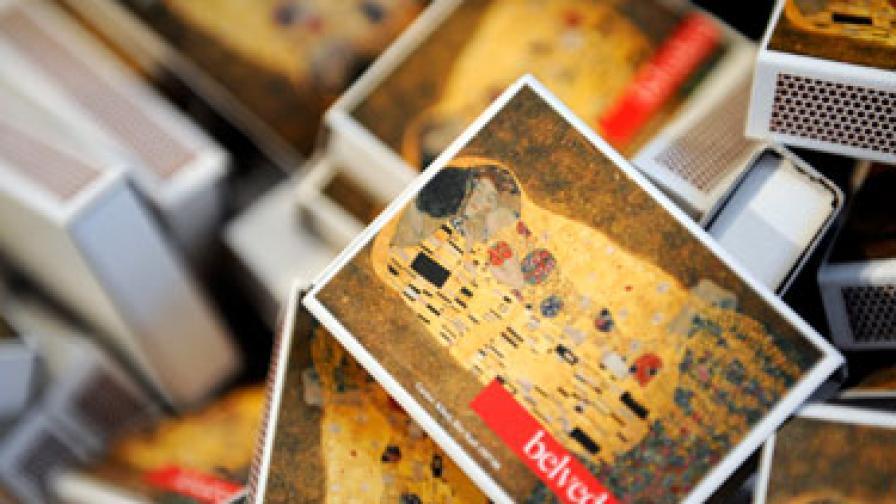 """""""Целувката"""" на Густав Климт е обявена и за """"най-романтична картина"""""""