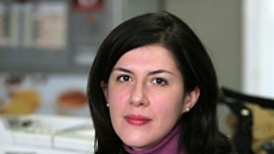 Журналистката Жени Марчева