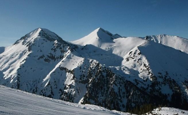 На ски и в топлото време