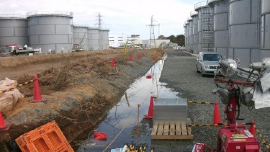 "12 т радиоактивна вода изтекоха от ""Фукушима-1"""