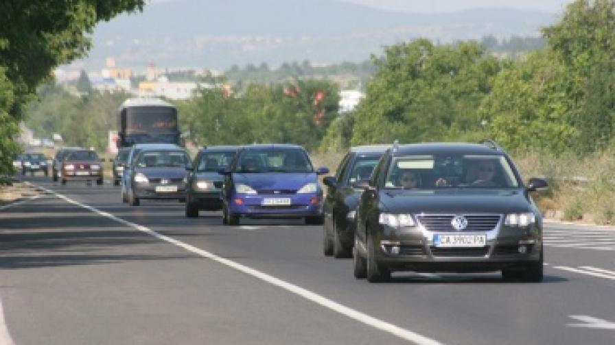 Ново кръстовище ще облекчи трафика край Телевизионната кула