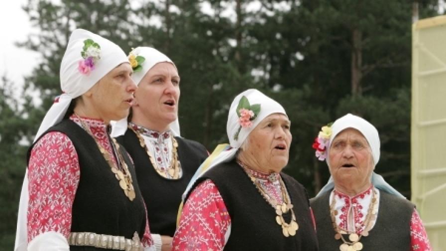 """Бистришките баби"" на фестивал в Латвия"