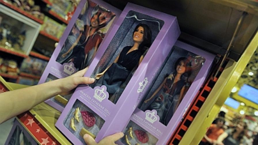 Пуснаха Барби вариант на Кейт и Уилям