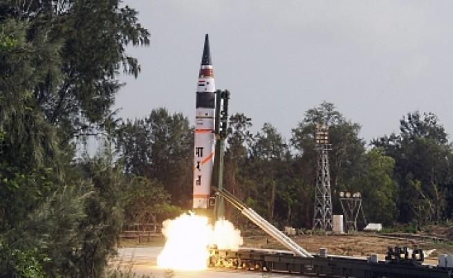 Индия тества междуконтинентална балистична ракета