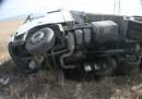 Тежка катастрофа с български ТИР в Румъния