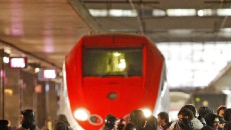 Влаков инцидент на римска гара изплаши пасажерите