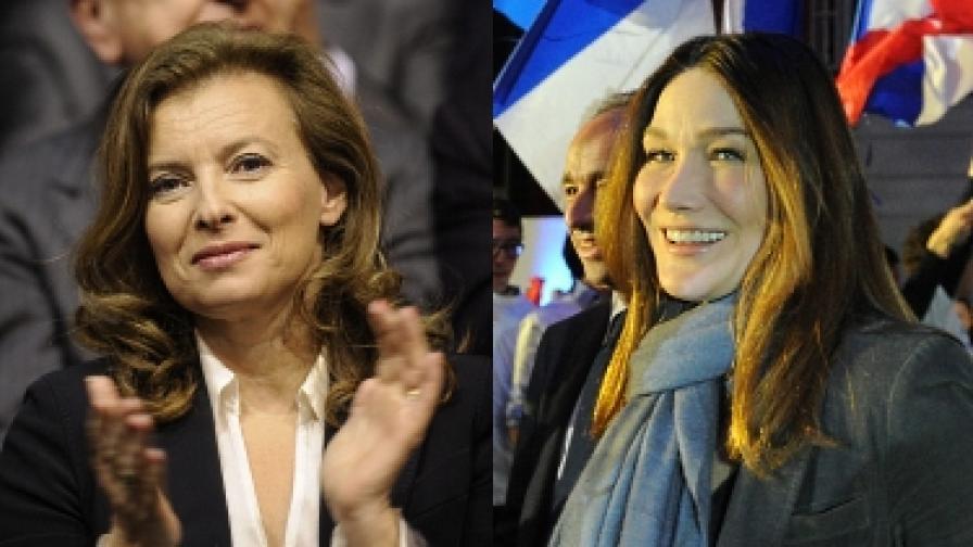 Бивш супермодел срещу работещо момиче - коя ще бъде първата дама на Франция?