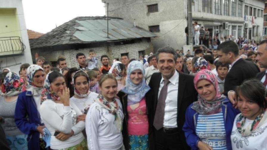 Чудо - държавен глава в село Рибново