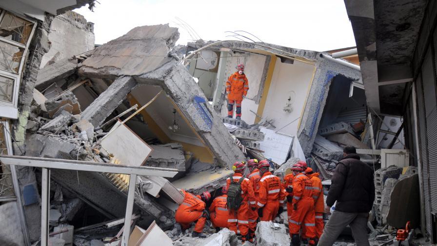 Дядо Земетръс чака силно земетресение през 2014 г. в района на Истанбул