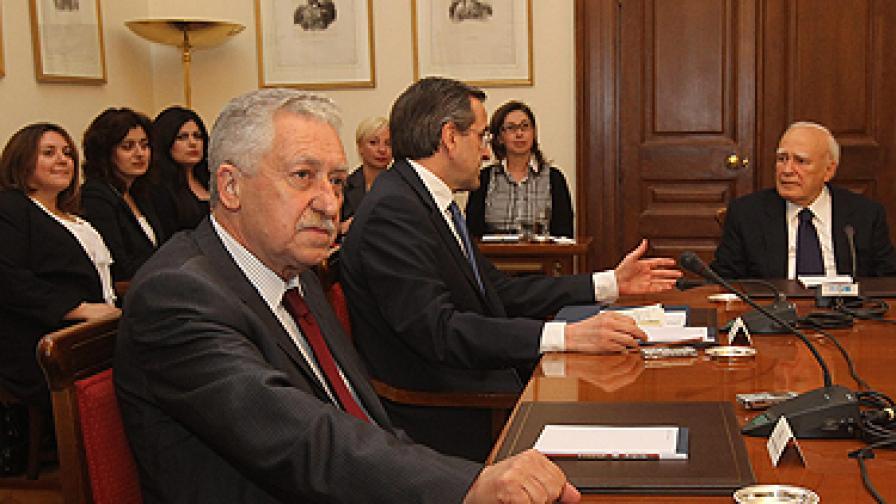 Никакво решение в Гърция