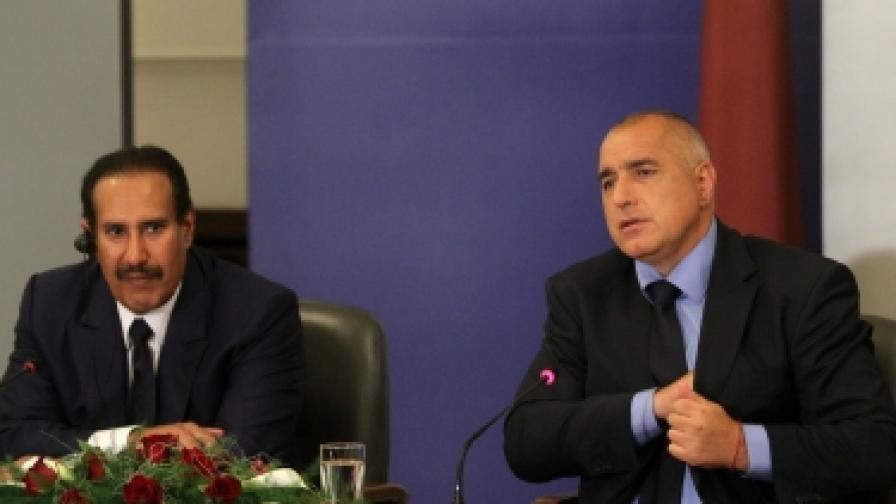 Катар влага на депозит 200 млн. долара в БНБ