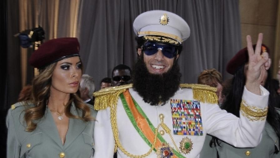 """""""Диктаторът"""" подразни арабите"""