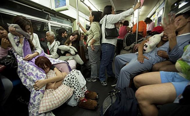 Стачка в метро предизвика задръстване от 250 км