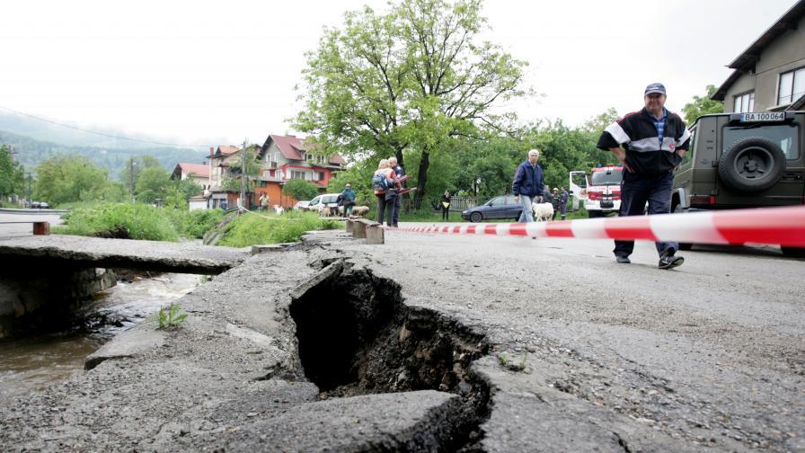 Мост се е срутил във Владая, трети поред