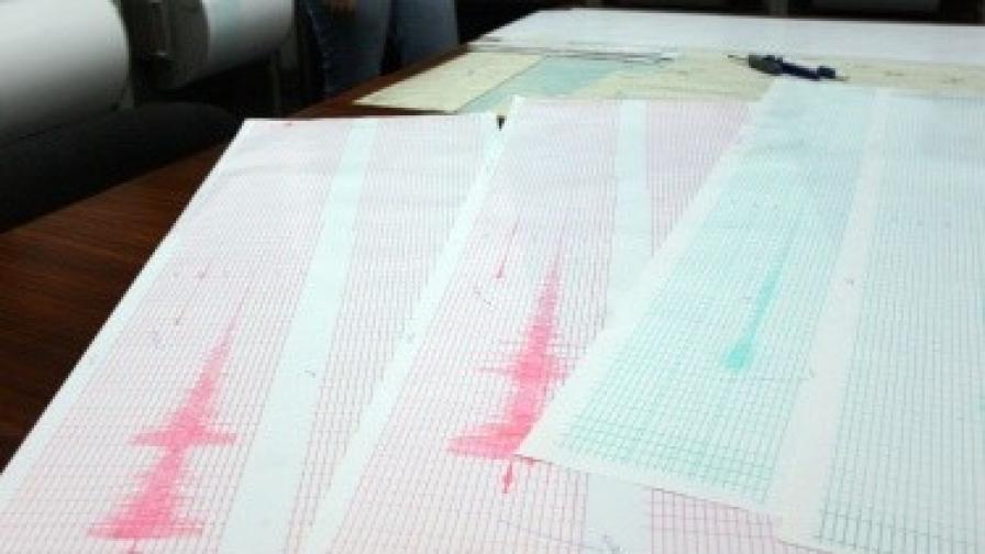 Земетресение предизвика паника в Южна Италия